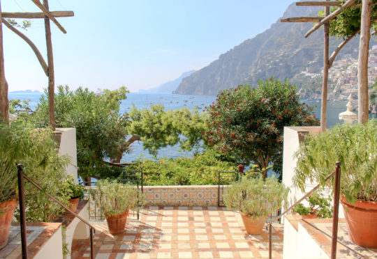 Villa Treville balcony