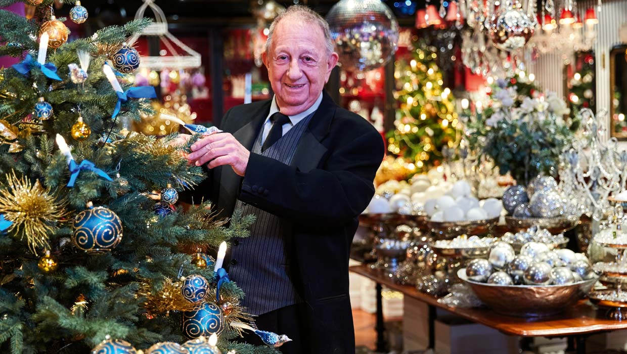 Meet the master of Christmas