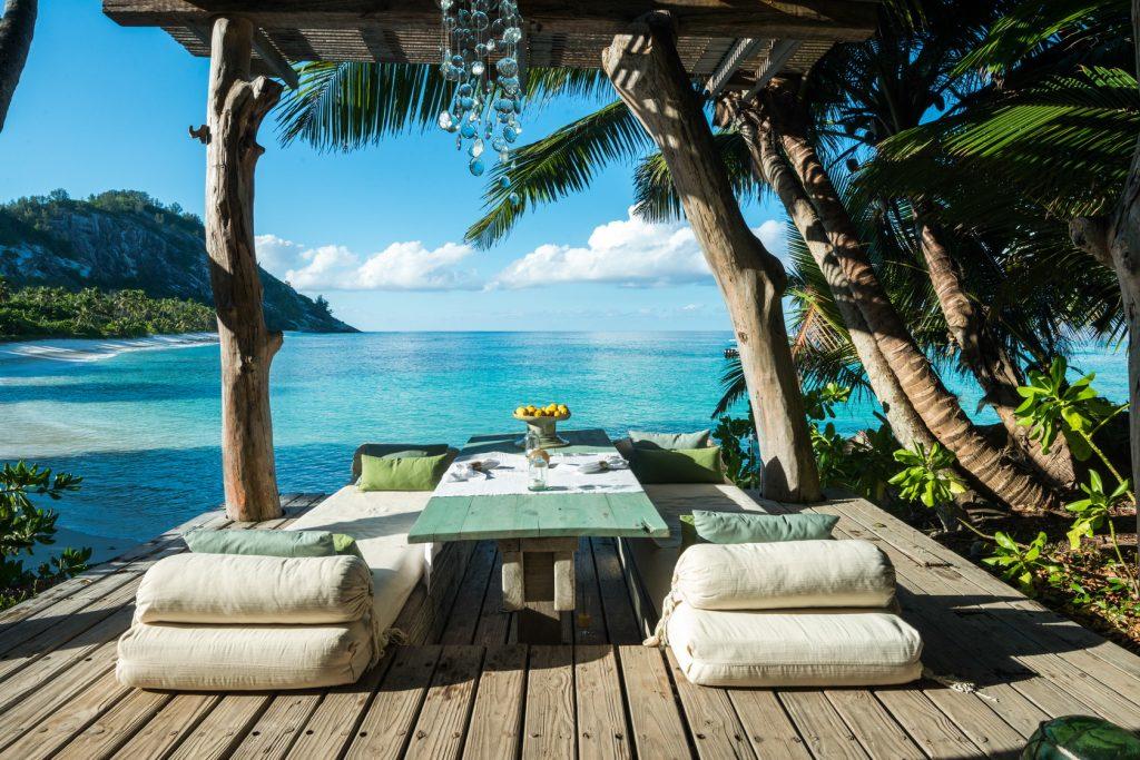 Oceanside villas allow for utter relaxation.