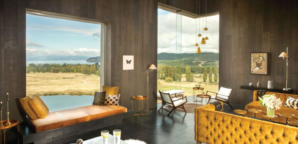 New Zealand's luxury lodges