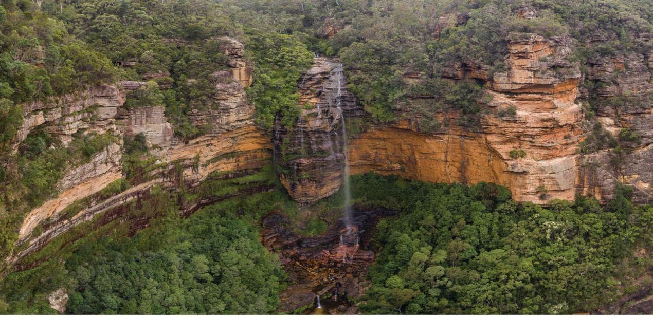 The Blue Mountains Australian Walk
