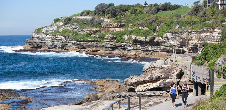 Coogee to Bondi Australian Walks