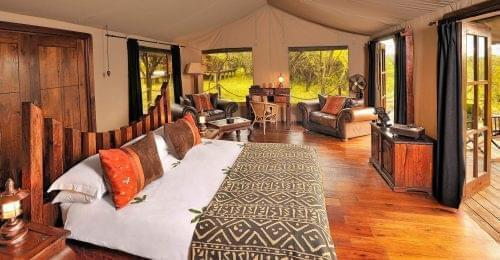 Migration bedroom at Serengeti National Park