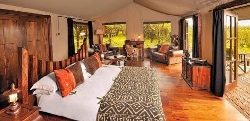 Migration bedroom at Serengeti National Park