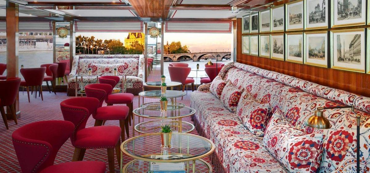Uniworld onboard lounge